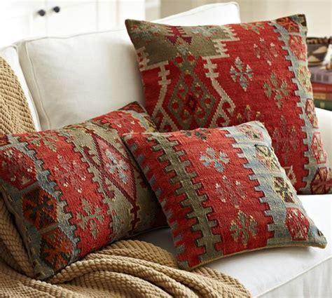 pottery barn decorative pillows kilim pillow covers pottery barn decor furniture