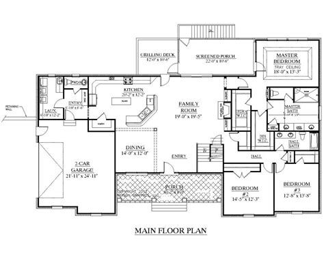 floor plans 2000 square 4000 square ranch house plans best of 100 2000 sq