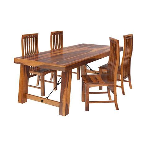 lincoln pc transitional dining room table chair set