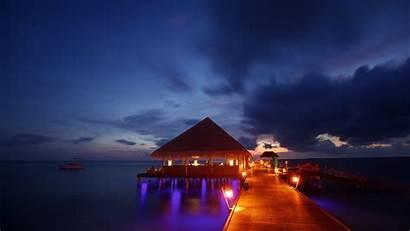 Night Beach Wallpapers Tropical 2493 Wallpaperlepi