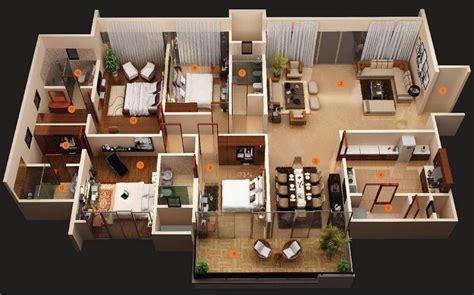 modern  bedroom house plans decor units