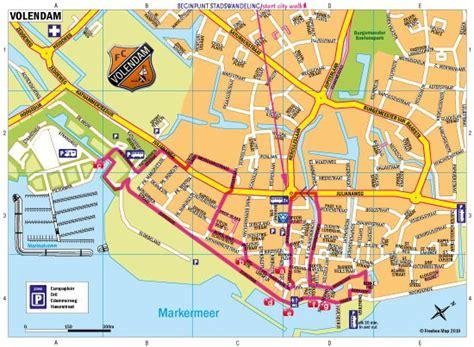 Plattegrond in Volendam - Freebee Map