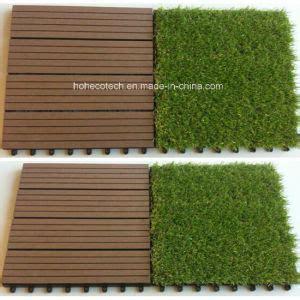 china artificial grass tiles 30s30 agt wpc decking tiles