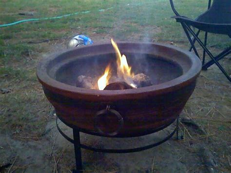 Clay Fire Pit Chiminea » Design And Ideas