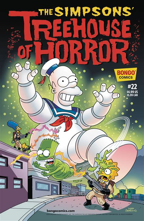 simpsons treehouse  horror  fresh comics