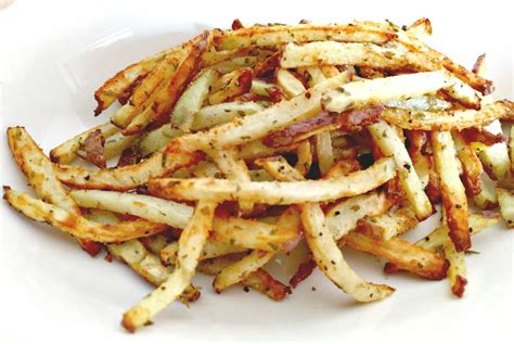 fries fryer air truffle parmesan jicama kitchen wednesday round mandoline recipe chef nicole simply adventures singer food