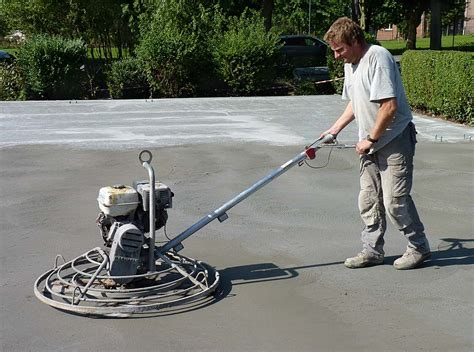 Power Trowel Concrete Floors ? Victoria Concrete Surfaces