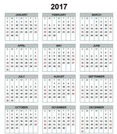 2017 April Calendar Print Out