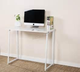 foxhunter foldable computer desk folding laptop pc table