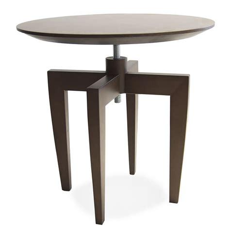 money table basse en bois tonon r 233 glable en hauteur avec plateau ovale disponible en