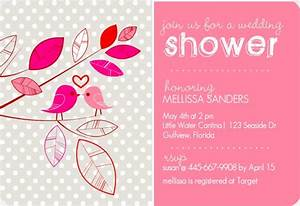 bridal shower invitation wording ideas from purpletrail With wedding shower wording ideas