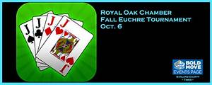 Royal Oak Chamber Fall Euchre Tournament Oct. 6 | The ...