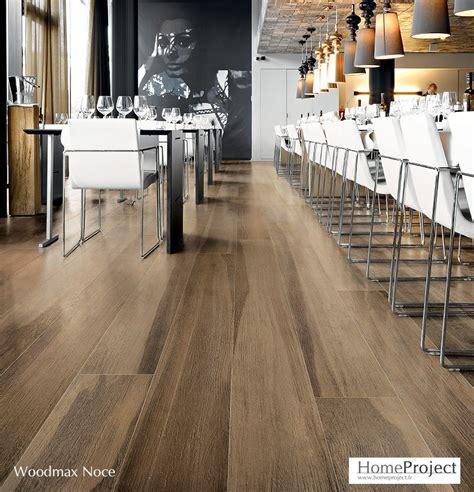 Carrelage imitation parquet Woodmax Noce coloris Noyer - HomeProject.fr