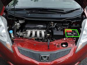 Honda Jazz Car Battery Location