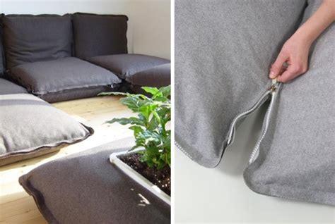 zipzip floor cushions zipzip floor cushions zip together for sofa fun gizmodo australia