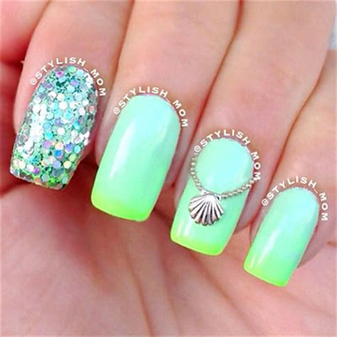 30 + Inspiring Beach Nail Art Designs, Ideas, Trends