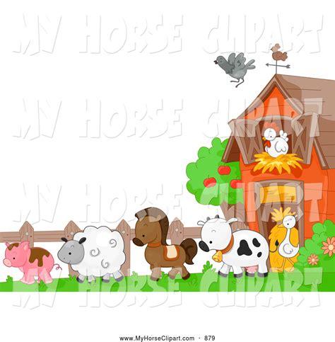 Farm Animal Wallpaper Border - farm animals border