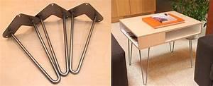 Hairpin Legs Baumarkt : 12 places to buy metal hairpin table legs raw steel stainless steel rebar powder coated ~ Frokenaadalensverden.com Haus und Dekorationen
