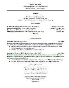 entry level lpn resume sample nursing