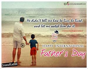 Advanced Happy Father's Day Greetings with Father and Son ...