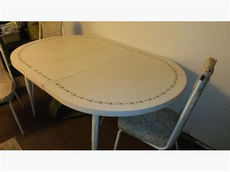 vintage arborite kitchen table and chairs city