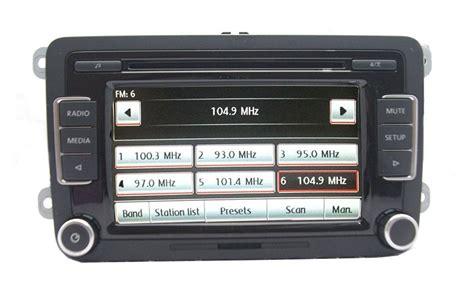 vw rcd  dab retrofit audio images