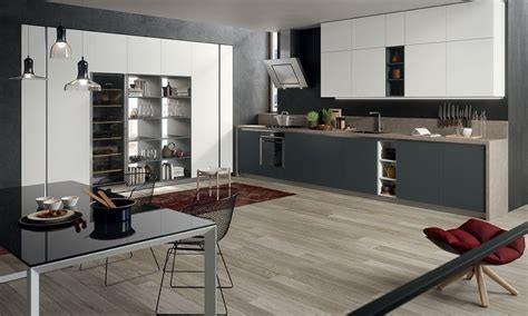 cuisine gris et bois cuisines design et modernes