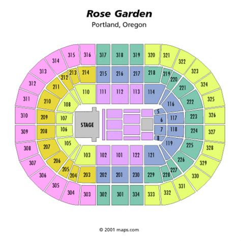 image gallery moda center concert seating