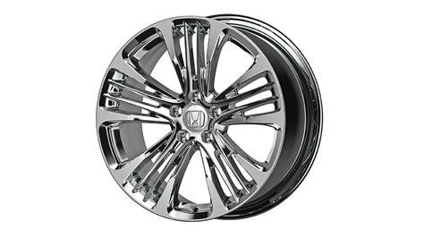 honda accord  sbc chrome alloy wheels
