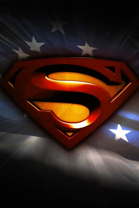 wallpaper superman flag   united states usa
