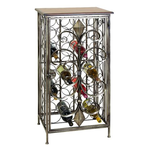 wrought iron wine racks casa cortes wrought iron 32 bottles wine holder rack ebay