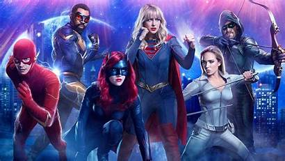 Infinite Crisis Earths Arrowverse Crossover Cw Dc