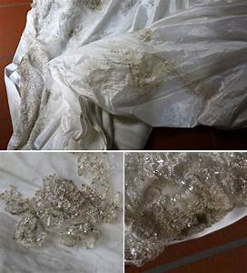 Diy how to clean your wedding dress weddingbee for Diy wedding dress cleaning