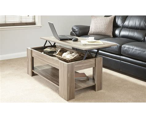 Coffee table white with light wood chico. Julie Lift Up Storage Coffee Table in Walnut Living Room