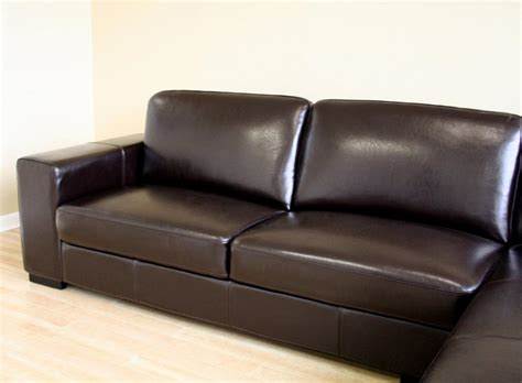 acheter canapé d angle pas cher acheter canapé angle cuir marron