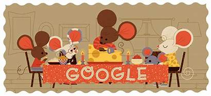 Thanksgiving Google Doodles Logos Yahoo Bing History