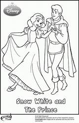 Coloring Prince Snow Pages Disney Princess Clipart Handsome Popular Library Request Coloringhome sketch template