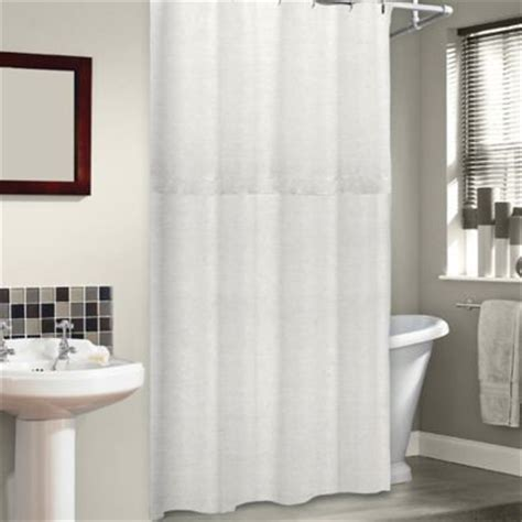 75 Shower Curtain by Soho 72 Inch X 75 Inch Linen Shower Curtain In Pearl Bed