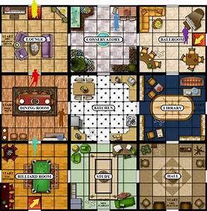 Clue Board Game Rooms Wwwpixsharkcom Images