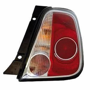 Feu Arriere Fiat 500 : feu arri re droit fiat 500 phase 1 2007 2015 contour noir neuf rouge blanc ~ Melissatoandfro.com Idées de Décoration