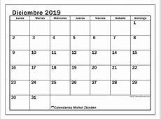 Calendarios diciembre 2019 LD Michel Zbinden ES