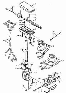 Marine Parts Plus Trolling Motors Serial Thruster 813055