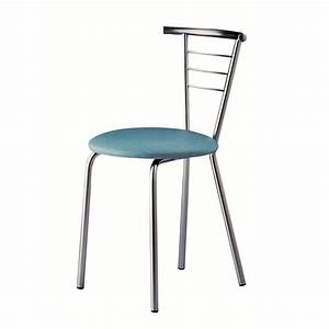 chaise de cuisine en metal flore With chaise de cuisine confortable