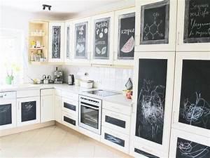 Küche Günstig Einrichten : ber ideen zu tafelfolie auf pinterest kreidetafel k che kleines kinderzimmer und ~ Indierocktalk.com Haus und Dekorationen