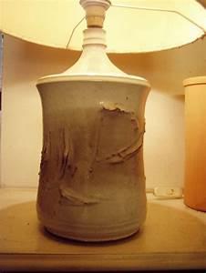 Pied De Lampe Ceramique : pied de lampe vers 1965 vallauris c ramique ceramistes poterie ~ Teatrodelosmanantiales.com Idées de Décoration