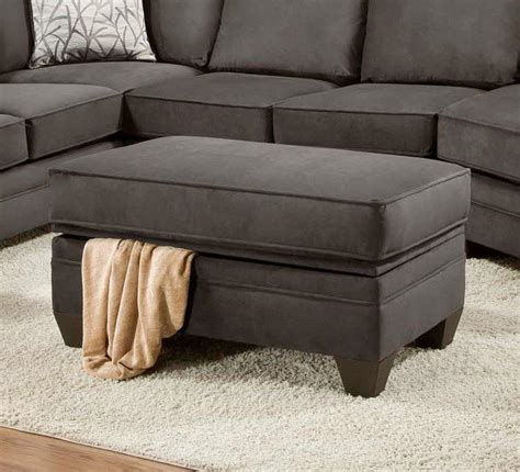 recliner with storage ottoman american furniture 3810 storage ottoman for sectional sofa