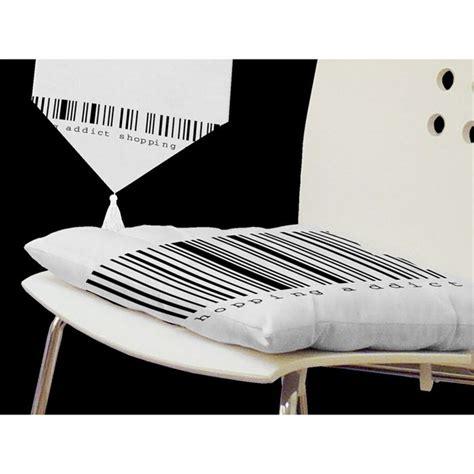 chaise noir et blanc galette de chaise noir et blanc images