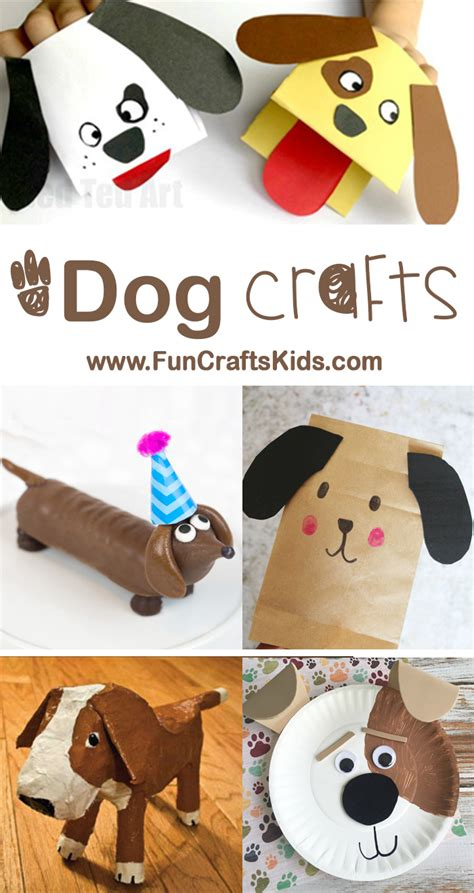 new year crafts crafts 178 | Dog Crafts from FunCraftsKids