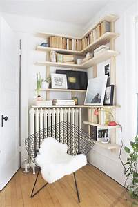 corner shelves deuce cities henhouse With idee deco etagere murale