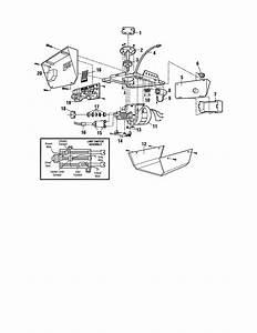 Craftsman Model 13953920dm Garage Door Opener Genuine Parts